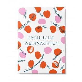 UNTER PINIEN – Fröhliche Weihnachten – Postkarte