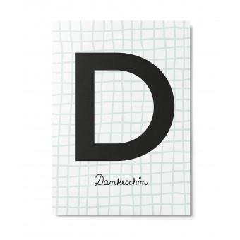 UNTER PINIEN – Dankeschön Waffel – Postkarte