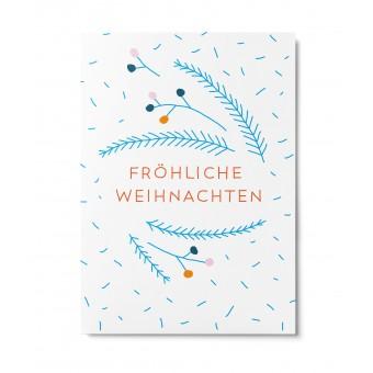 UNTER PINIEN – Weihnachtszweige – Postkarte