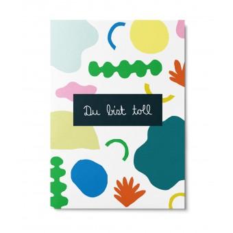 UNTER PINIEN – Algue Postkarte