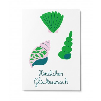 UNTER PINIEN – Strandspaziergang – Postkarte