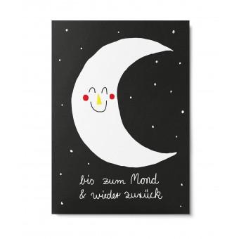 UNTER PINIEN – La Lune – Postkarte