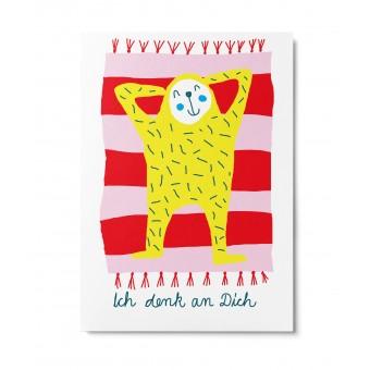 UNTER PINIEN – Ich denk an Dich – Postkarte