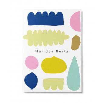 UNTER PINIEN – Nur das Beste – Postkarte