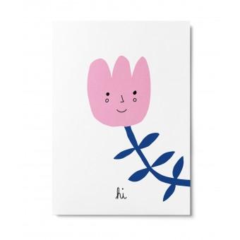 UNTER PINIEN – Blümchen – Postkarte