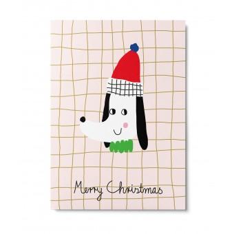 UNTER PINIEN – Christmas Dog – Postkarte