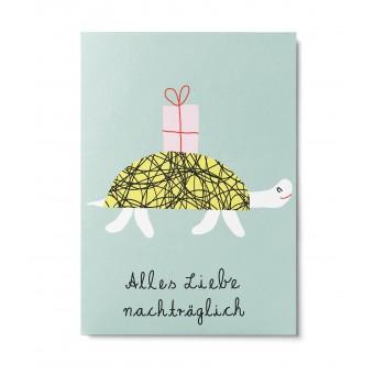 UNTER PINIEN – Schildkröte – Postkarte