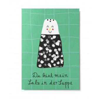 UNTER PINIEN – du bist mein Salz – Postkarte