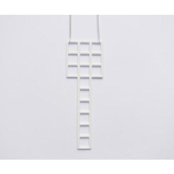 Theobalt.design Tetris Kette weiß (lang)