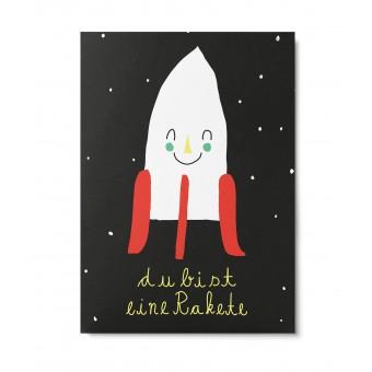 UNTER PINIEN – Rakete – Postkarte