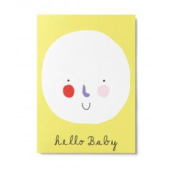 UNTER PINIEN – hello Baby – Postkarte