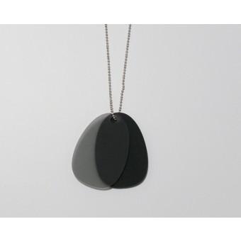 theobalt.design TAG Halskette schwarz