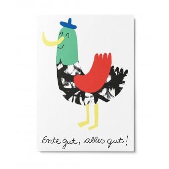 UNTER PINIEN – Happy End – Postkarte