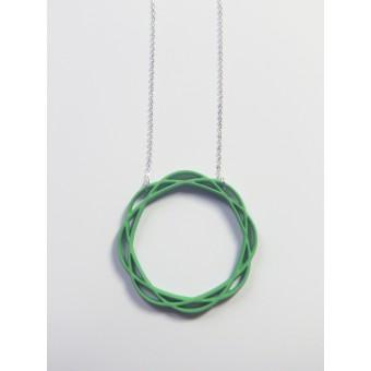 Theobalt.design Hypotrochoid Halskette grün