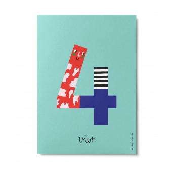 UNTER PINIEN – vier – Postkarte