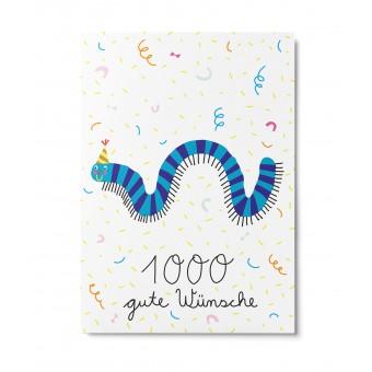 UNTER PINIEN – 1000 gute Wünsche – Postkarte