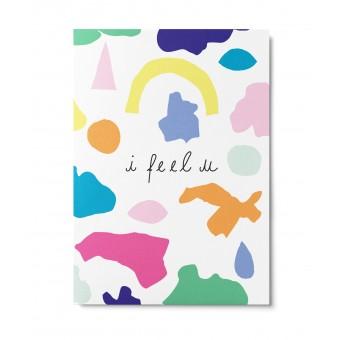 UNTER PINIEN – i feel u – Postkarte
