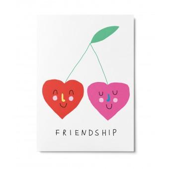 UNTER PINIEN – Friendship – Postkarte