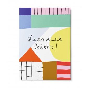 UNTER PINIEN – lass dich feiern – Postkarte