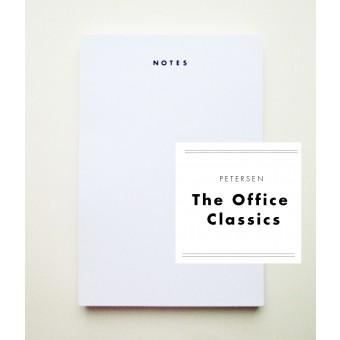 "PETERSEN ""The Office Classics"", Schreibblock ""Notes"""