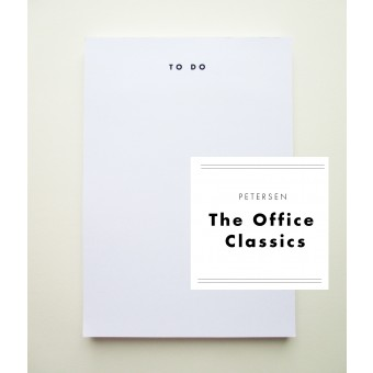 "PETERSEN ""The Office Classics"", Schreibblock ""To do""-Liste"