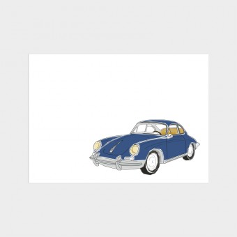 HOOK&EYE Postkarte 'Porsche' 3er-Set