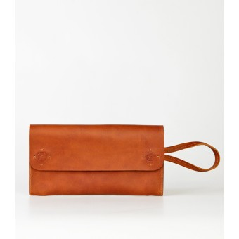 PENDLOR Moonlit Night Clutch (cognac)