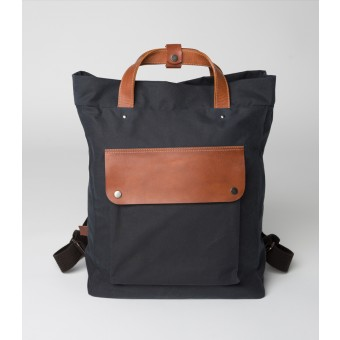 PENDLOR Wednesday's Casual Ruck (navy/cognac)