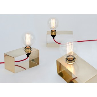 LJ LAMPS Pi horizontal – Leuchte aus Messing