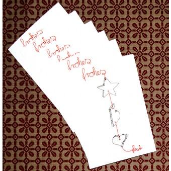 playfulsolutions Weihnachtskarte Festkette (Set)