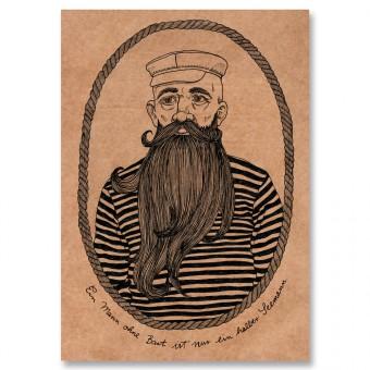 great-handmade *Seemann Poster, A3