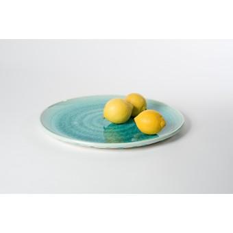 """Annika Schüler - porcelain Servierplatte """"Seegras"""""""