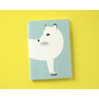Notizheft A6 Polarfuchs // Papaya paper products