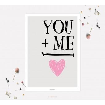 designfeder   Poster You + Me