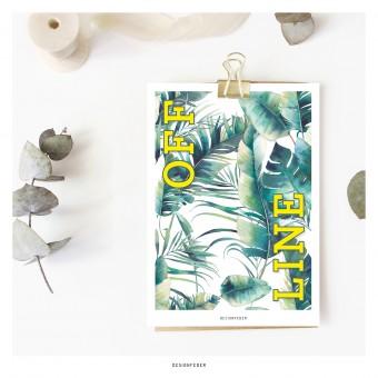 designfeder | Postkarte Offline