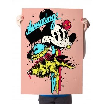 Martin Krusche – Poster »Micklone« 50x70cm