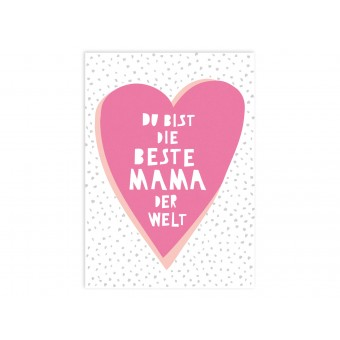 "Perunoto Postkarte ""Beste Mama der Welt"""