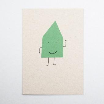 KLEINWAREN / VON LAUFENBERG Postkarte Hausmann