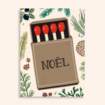 Family Tree Shop / Postkarte / Streichhölzer