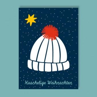 Family Tree Shop / Postkarte / Bommelmütze