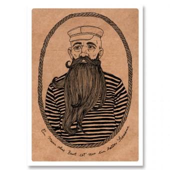 great-handmade *Seemann Postkarten Set