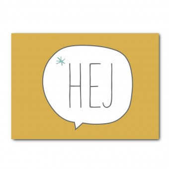 melike Postkarte Hej