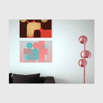 "ZEITLOOPS ""Punkte 1"", Poster A4 / A3"