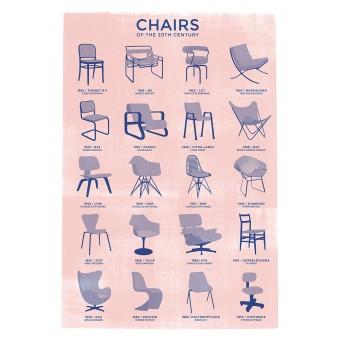 Haus der Riso - Chairs - A3 Risograph-Druck