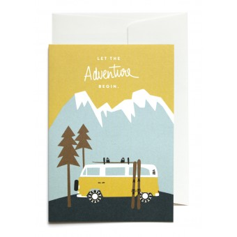 "Roadtyping Set ""Let the adventure begin"" 