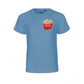 "Rapü Design Kindershirt indigoblau ""Pommunity"" | Fair Trade"