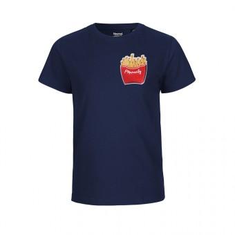 "Rapü Design Kindershirt navyblau ""Pommunity"" | Fair Trade"