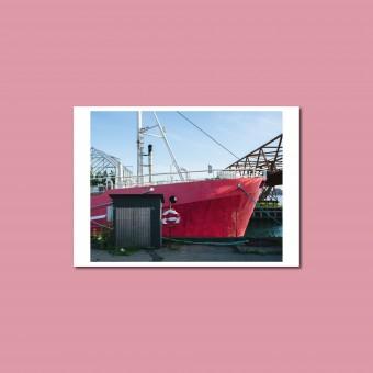 'Refshaleøen' Postkarte, DIN A6, klimaneutral gedruckt / Ankerwechsel Verlag