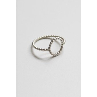"puur.jewellery Ring ""circle"" pearl"