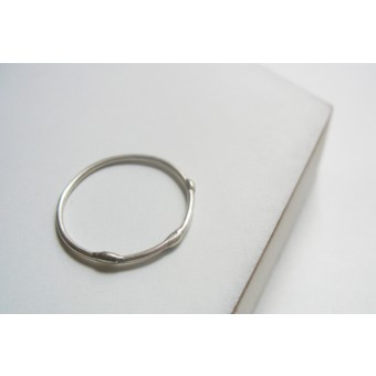 "puur.jewellery Ring ""DROP"" small"
